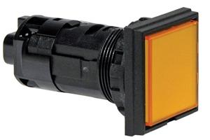 Idec Hw2p Series 22mm Pilot Lights Flush Square Lens With