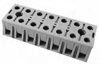 Marathon 0987 Series Tubular Clamp Heavy Duty Terminal Block