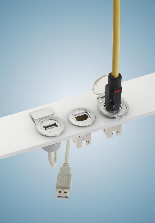 Harting Har-Port Series Ethernet Coupler with Cable
