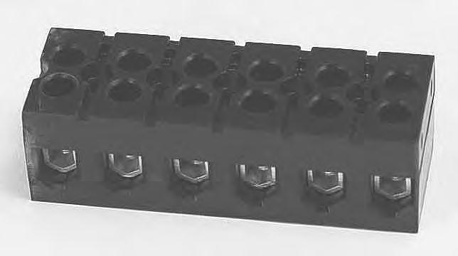 Marathon 985 GP Series Deadfront Heavy Duty Terminal Block